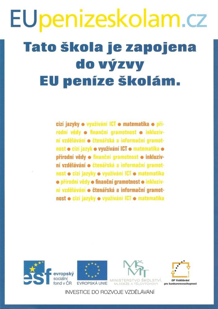EU penize skolam