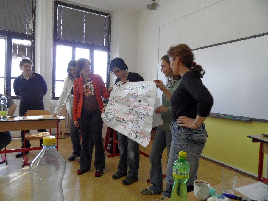 Prohlížíte si obrázky k článku: Školení EVVO pedagogů
