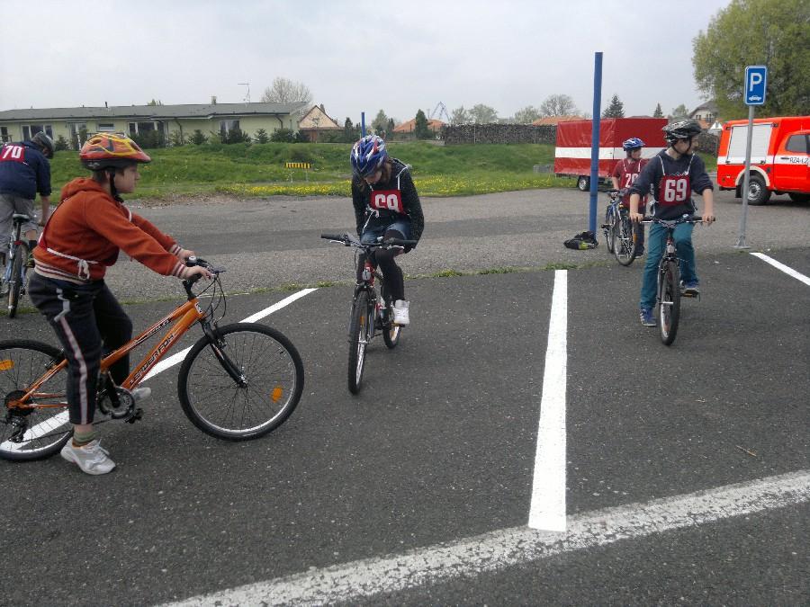 Prohlížíte si obrázky k článku: Soutěž mladých cyklistů