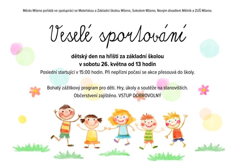 Prohlížíte si obrázky k článku: Dětský den za školou